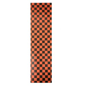 9″ FKD Orange Checker Grip Tape