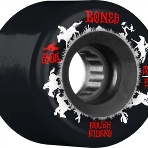 56mm Bones Rough Rider Wranglers Wheels Black