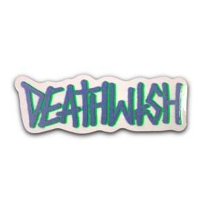 Deathwish Deathspray Sticker Blue