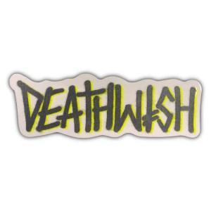 Deathwish Deathspray Sticker Grey