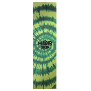 9″ MOB Yellow/Green Tie-Dye Grip Tape