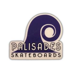 Palisades Skateboards Sticker Purple