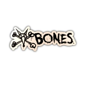 Bones Vato Sticker White