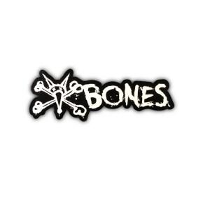 Bones Vato Sticker Black