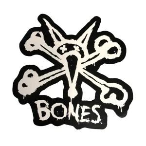 Bones Vato Rat Sticker Black