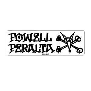 Powell Peralta Vato Rat Sticker Black/ Clear