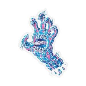 Santa Cruz Crystal Hand Sticker
