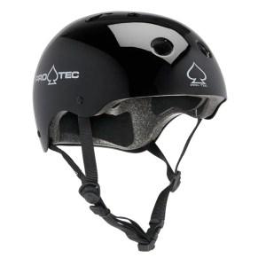 XS Pro-tec Classic Helmet – Gloss Black (Certified)