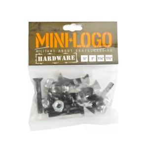 1.25″ Mini Logo Hardware Single pks
