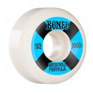 53mm Bones Wheels OG Formula Wheels 100 #4 V5 Sidecut