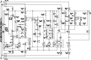Figure 1 Example of a Pump Start Circuit Schematic Diagram