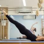 exercício no trapézio