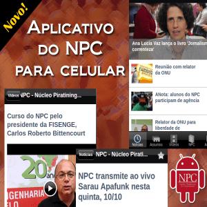 Aplicativo NPC app android