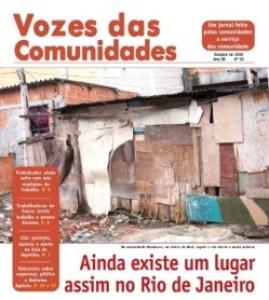 Jornal Vozes das Comunidades 2008