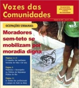 Jornal Vozes das Comunidades 2009