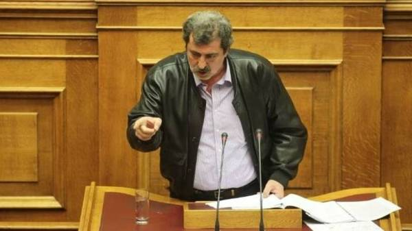 Παύλος Πολάκης στη Βουλή