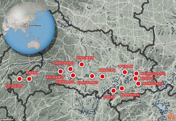 Εξάπλωση του κοροναϊού στην Κίνα (24/01/2020)