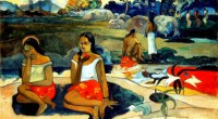 Paul Gauguin, Sacred Spring: Sweet Dreams 1894 Oil on canvas