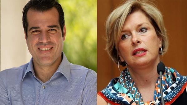 Ο Θάνος Πλεύρης και η Μίνα Γκάγκα είναι τα νέα πρόσωπα στο Υπουργείο Υγείας, καθώς ο Πρωθυπουργός αποφάσισε να αλλάξει την ηγεσία της Αριστοτέλους.