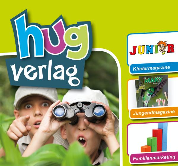 Ein supercooles Konzept für den Hug-Verlag