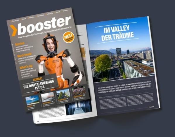 Hurra, die neue «booster» Ausgabe 02 I 18 ist da!