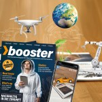 Start-up-Magazin «booster» verbindet Print mit Augmented Reality