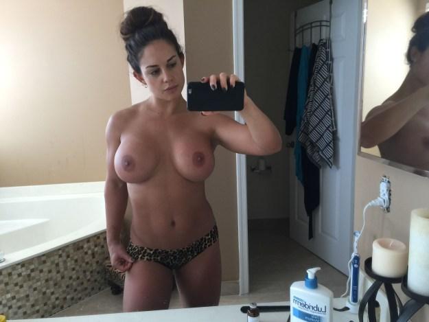 Celeste Bonin WWE Kaitlyn Nude Leaked The Fappening