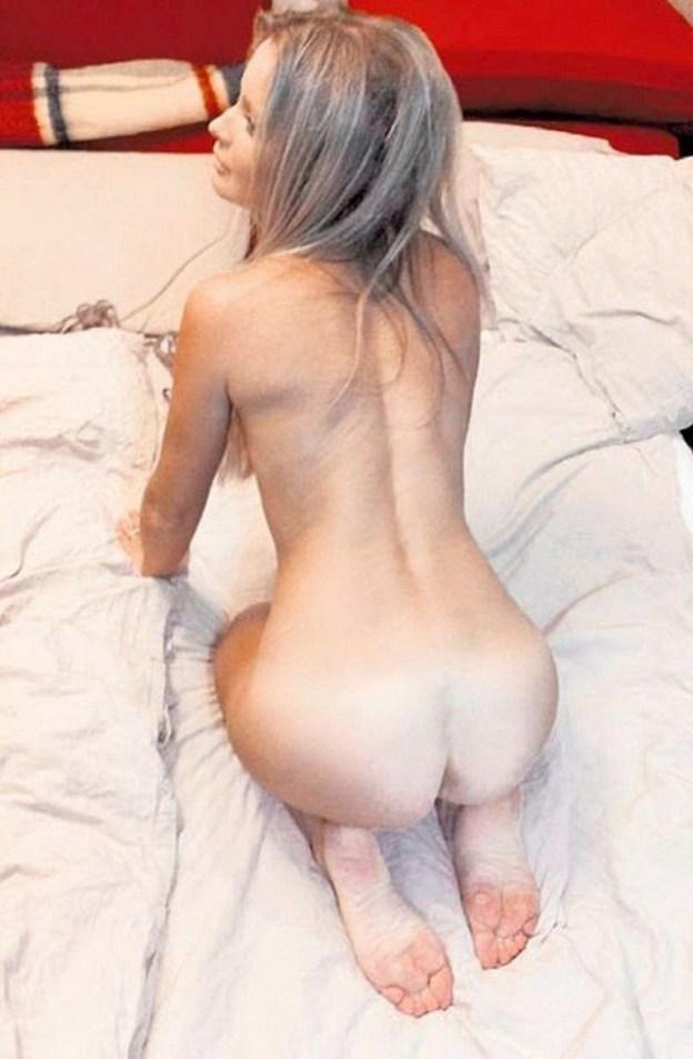 Famous Russian TV presenter Dana Borisova Naked