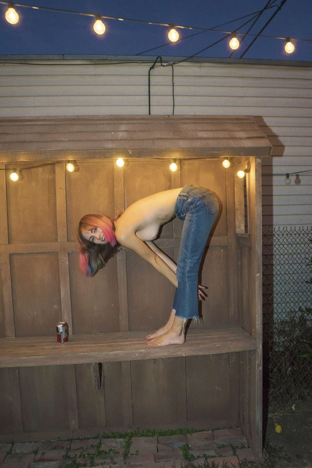 Model Kylie Hannah Nude Photo Shoot