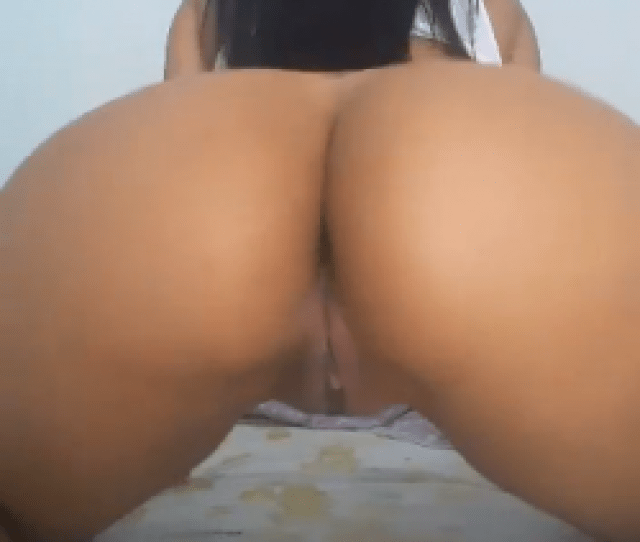 Thick Colombian With A Shaved Pussy Shaking Her Enormous Ass In Your Face