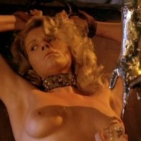 Lana Clarkson, etc. nude in Barbarian Queen (1985) DVDRip