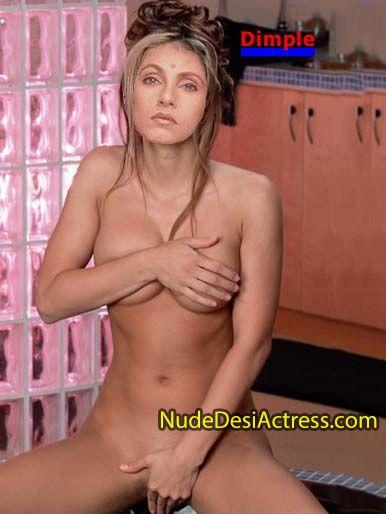 Dimple Kapadia Nude - Nude Desi Actress-4664