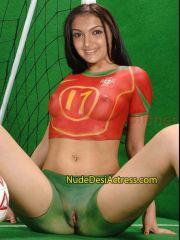 Saranya Mohan Nude