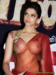 Deepika Padukone Showing boobs without bra