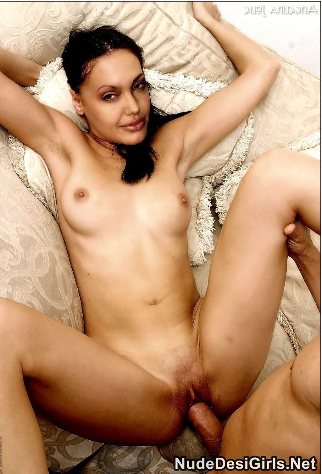Angelin jolie xxx photo think, that