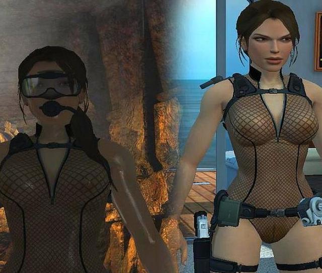 Tomb Raider Anniversary Nude Skin