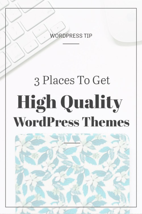Where to get High Quality Themes