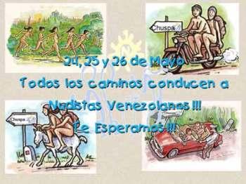 Playa nudista Venezuela mayo 2013