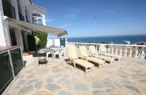 Terrace at Villa Magica