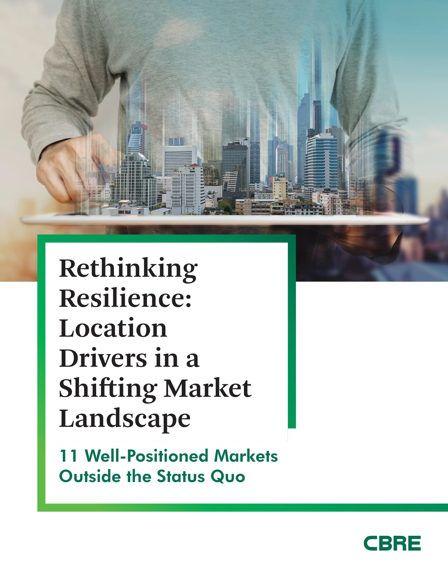 CBRE released a 2020 Location Study