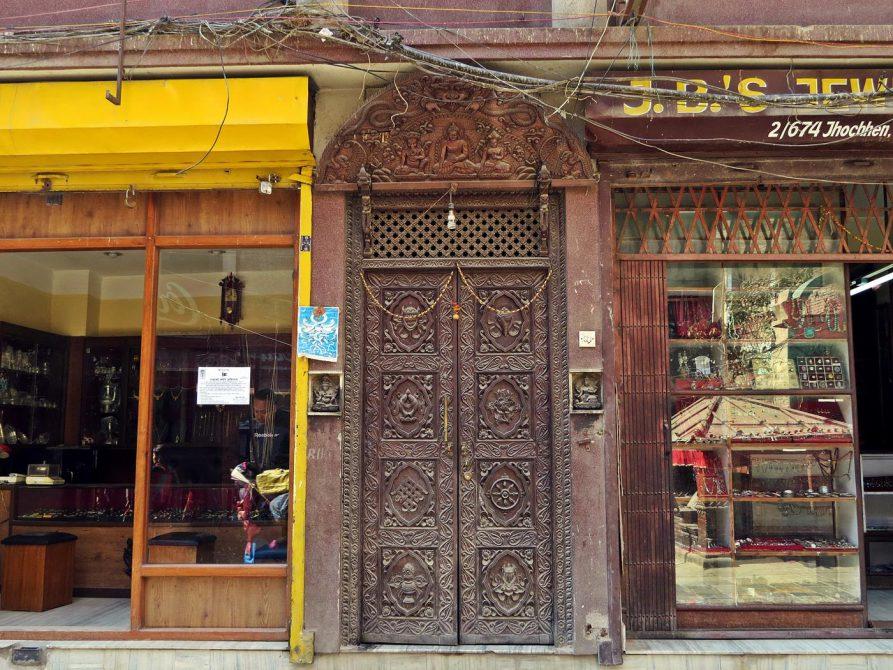Tür, Freak Street, Kathmandu