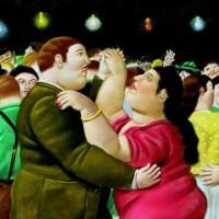 Exposición de Fernando Botero en el Kunsthal de Rotterdam.