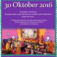 30-10-16 Celebración del Día de  Muertos en Amsterdam.