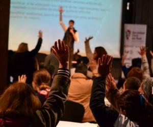 Más de 160 referentes de organizaciones sociales de la región se reunieron en Mendoza