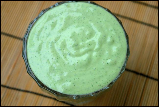 Mayonesa al cilantro