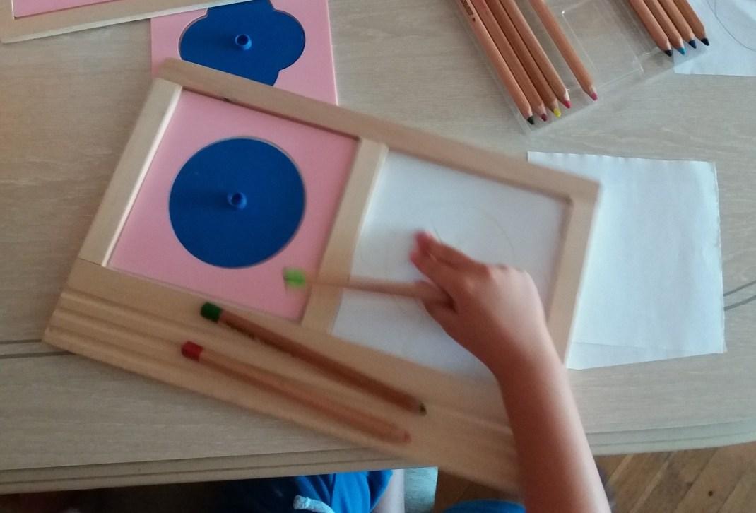 resaques de plástico Montessori