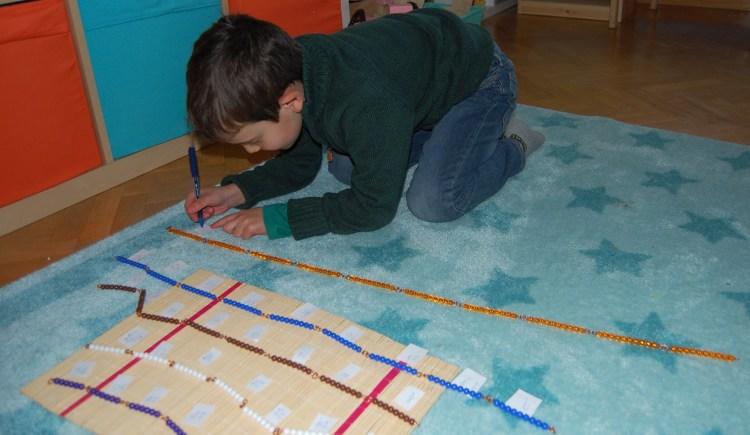 cadenas cortas Montessori
