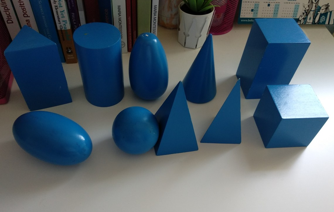 Los Sólidos Geométricos Montessori