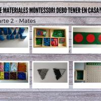 ¿Que Materiales Montessori Debo Tener en Casa? - Parte 2