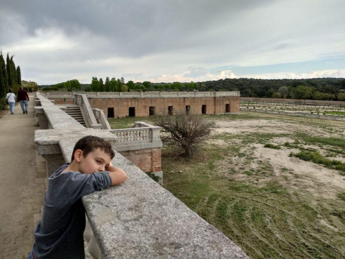 niño mirando paisaje